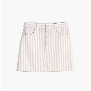 Madewell A-Line Mini Skirt